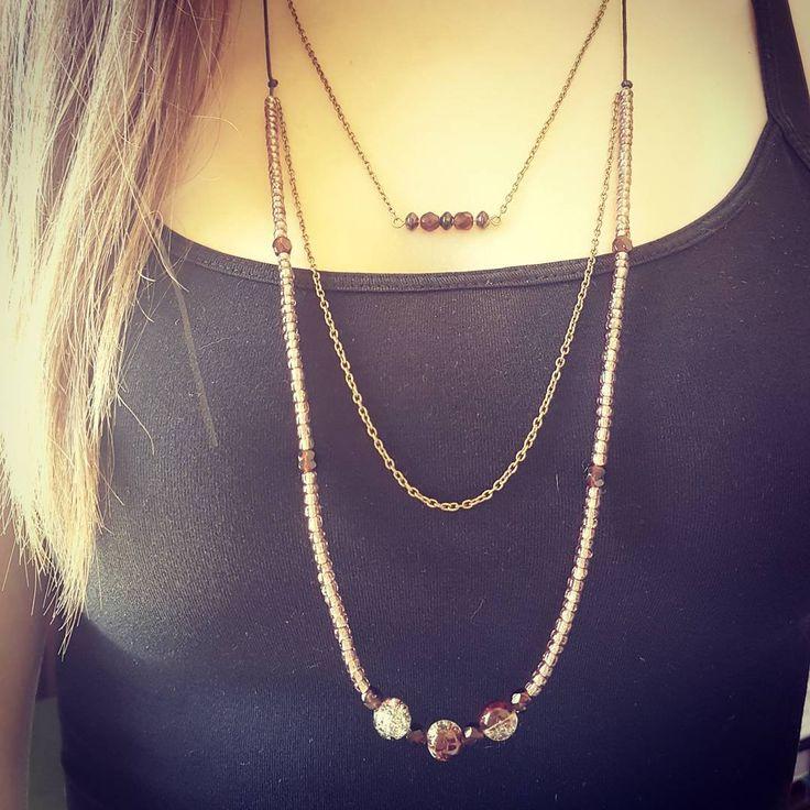 "5 Likes, 1 Comments - Jolly Jewels Home - by Julita (@jollyjewelshomeinsta) on Instagram: ""Let's try some boho! 😗  #boho #bohostyle #bohojewelry #bohobeadednecklace #bohonecklace…"""