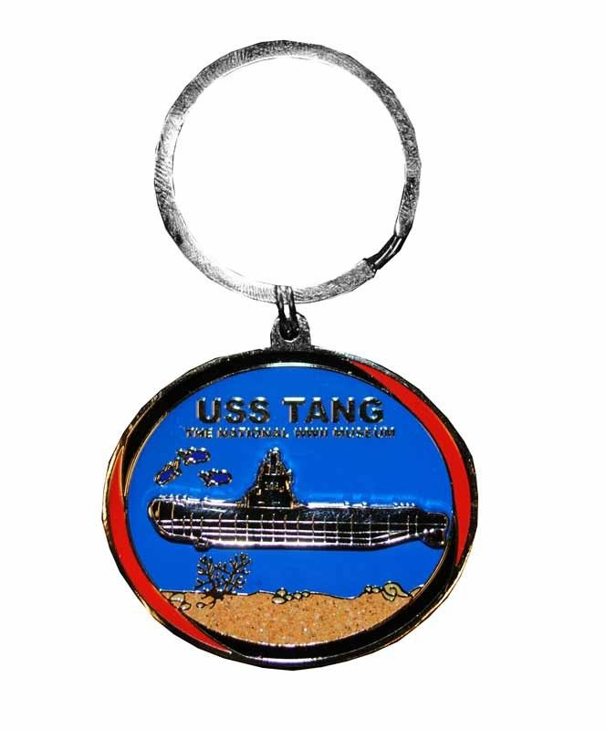 USS Tang Motion Keychain