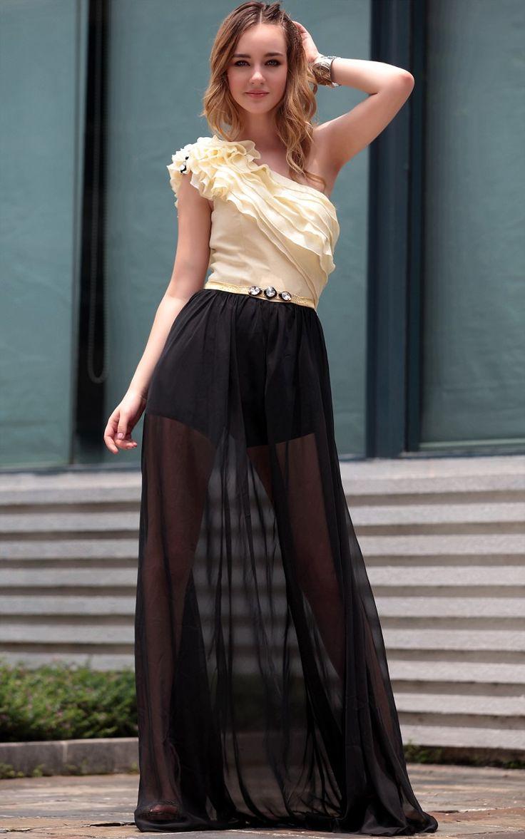 longueur de plancher une épaule robes de bal - Robe de bal sexy - Robe de bal