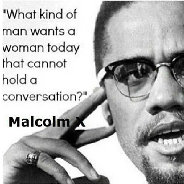 Malcolm X #quote Amen, amen, amen!