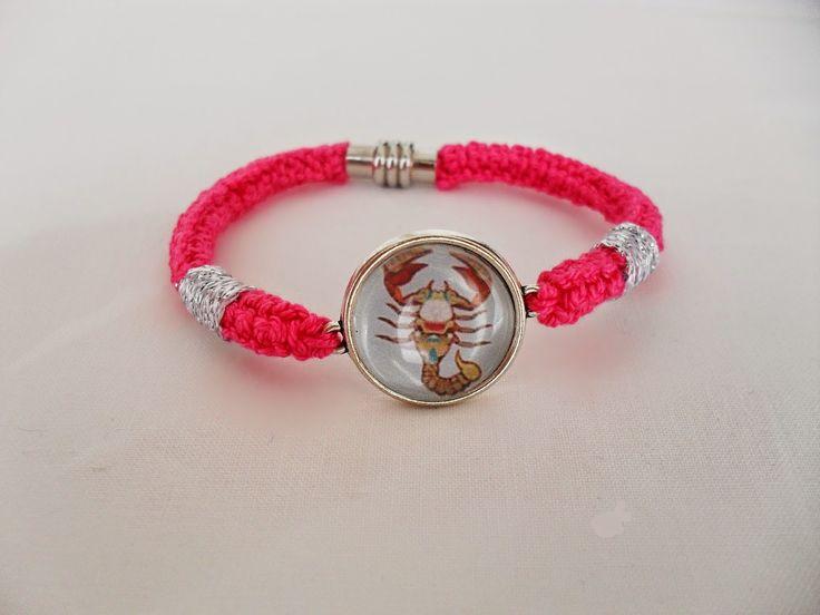 Escorpião/Scorpion - Pink/Rosa Choque