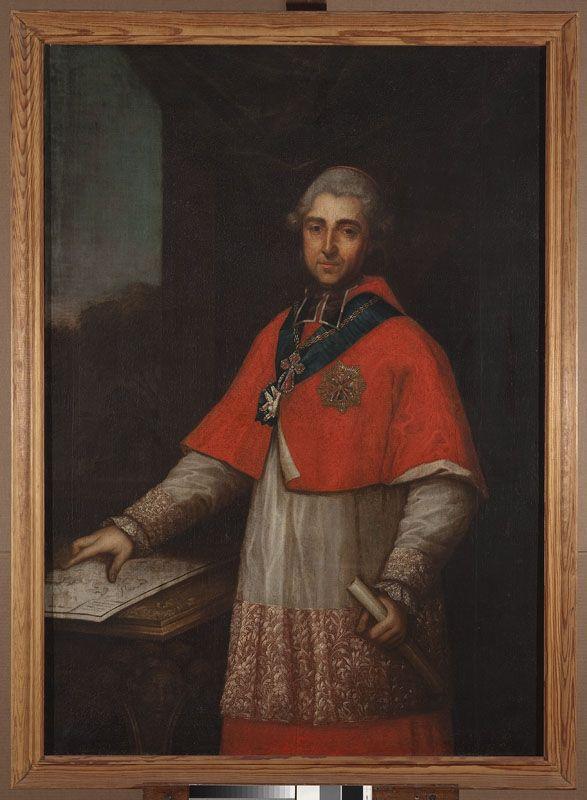 Muzeum Cyfrowe dMuseion - Portret prymasa Michała Poniatowskiego