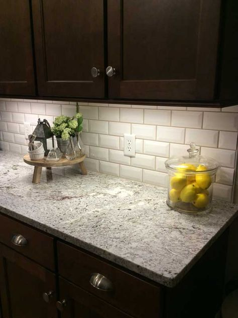 Die besten 25+ Granit fliesenspiegel küche Ideen auf Pinterest - fliesenspiegel k che verkleiden