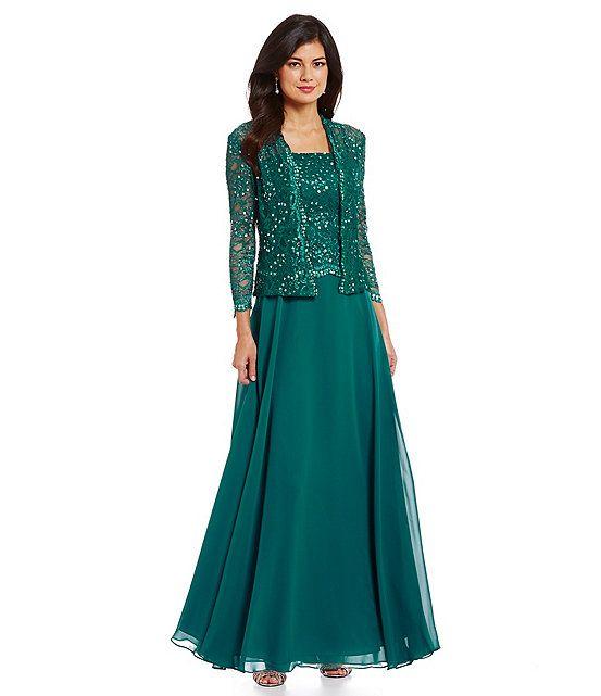 Teal:Ignite Evenings Sequined Jacket Dress   Dress Ideas ...