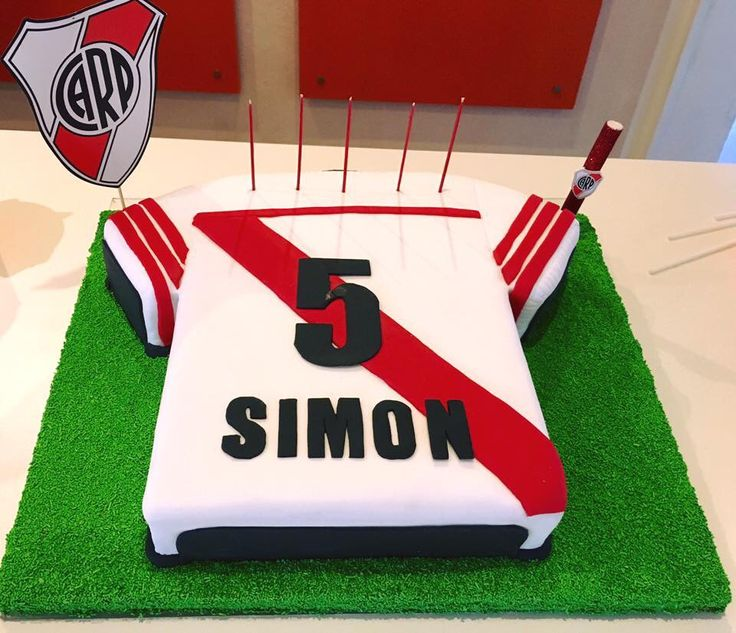 "Torta River Plate - a River Plate Soccer Team ""s cake"