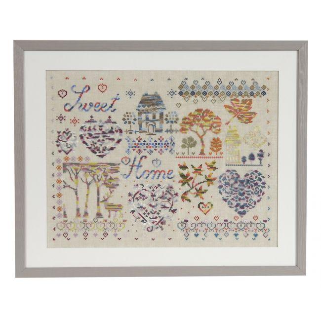 Diagrama Sweet Home Coloris 15278/22 - Libro de ideas - DMC