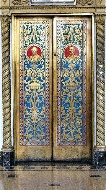 The Old Robert E. Lee Hotel lobby elevator doors photo by forestelf_2000 via Flickr & 79 best Elevator Doors images on Pinterest | Elevator door Portal ... Pezcame.Com