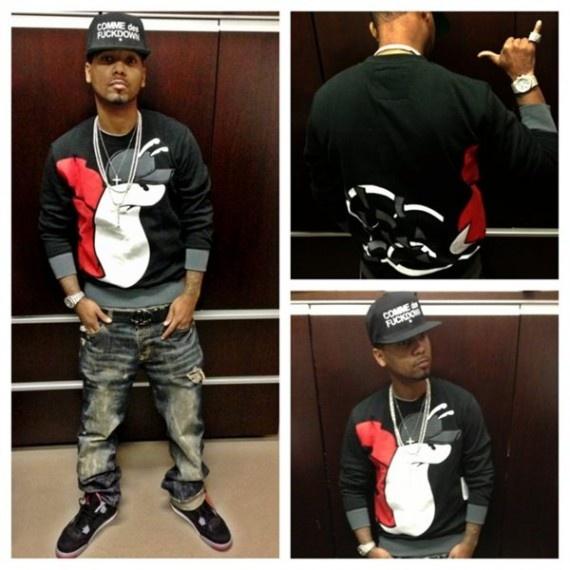 Celebrities wearing Air Jordan 4 Bred Sneakers – Streetwear