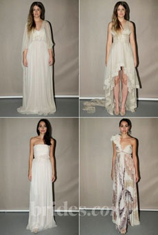 Brides.com The Spring 2013 wedding dress collection by Leila Hafzi