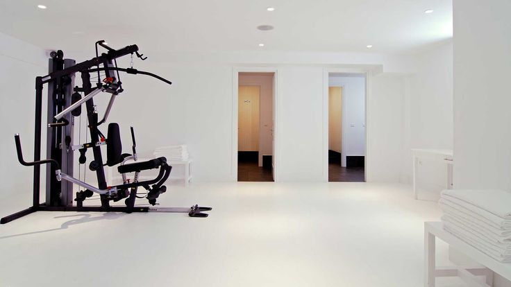 Don't waste time! Work out any time at #AnemiHotel! #Folegandros