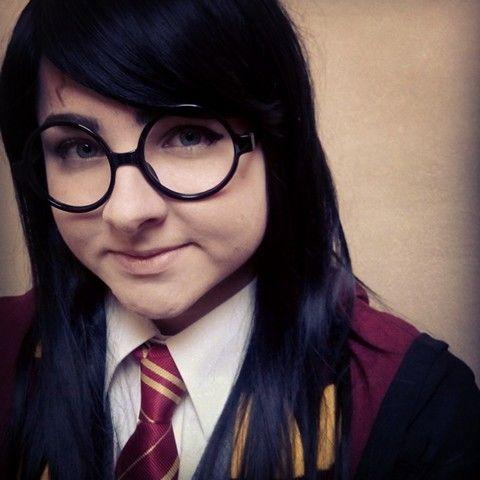 Harry (Harietta) Potter cosplay