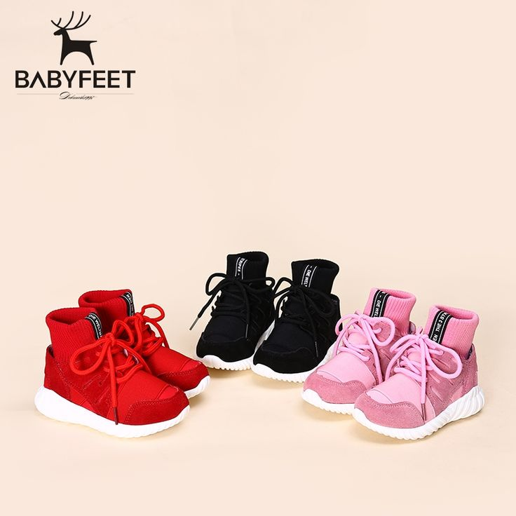 29.25$  Watch more here  - 2017 Babyfeet Winter New girls flat kids fashion ankle booties children sneakers casual Shoes high top lace-up boys school shoe