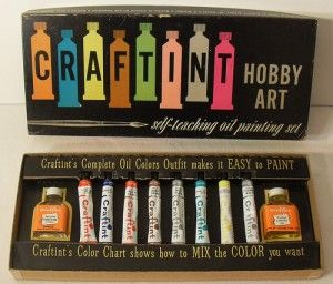 Craftint Hobby Art: Vintage Graphics, Google Image, Vintage Paintings, Paintings Sets, Hobbies Packaging, Artists Supplies, Art Supplies, Vintage Artists, Craftint Paintings