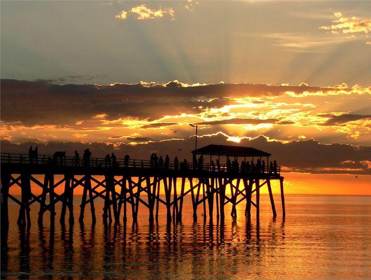 Adelaide Sunset Time ... Grange Beach