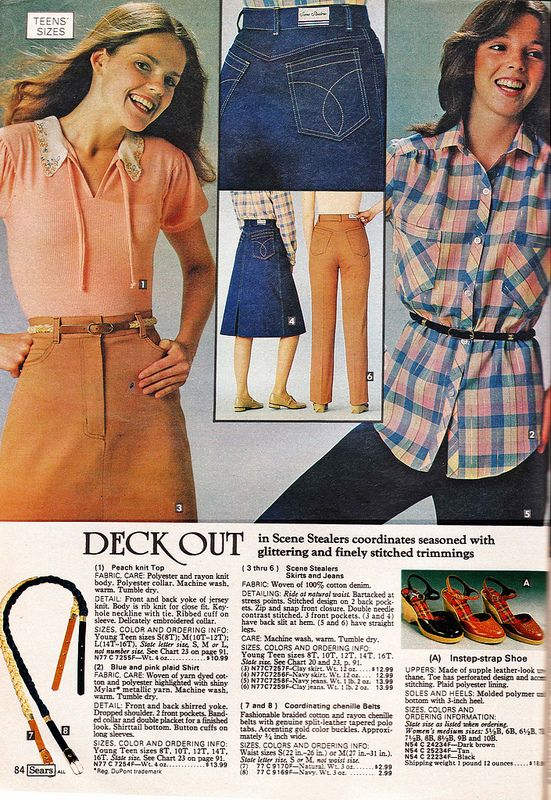 Retrospace: Catalogs #32: 1979 Sears Junior Fashions