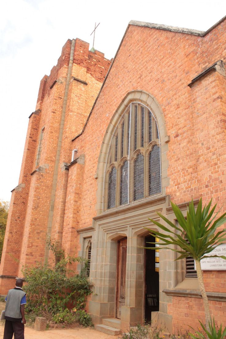 Livingstonia church in Malawi (photo courtesy of Albert Smith)