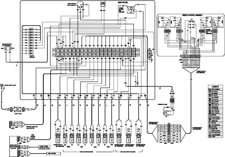 wiring coffing diagram hoist ec2004 4