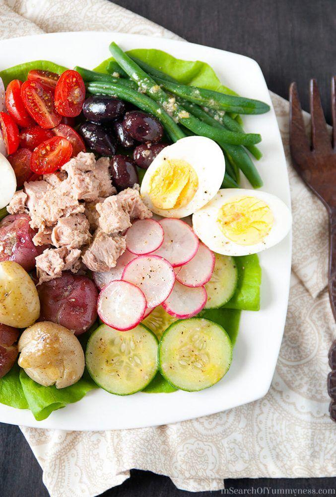 Salade Nicoise Recipe Dinner Dishes Fruit Veg Nicoise Salad