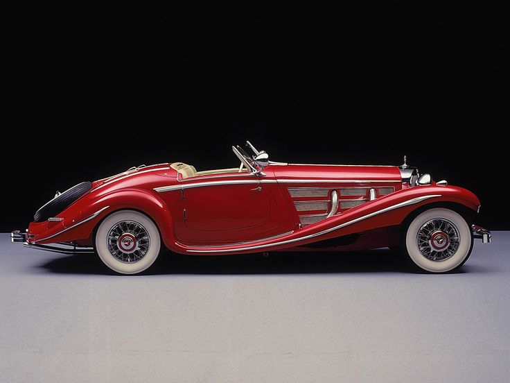Mercedes-Benz 500K Spezial Roadster, 1935