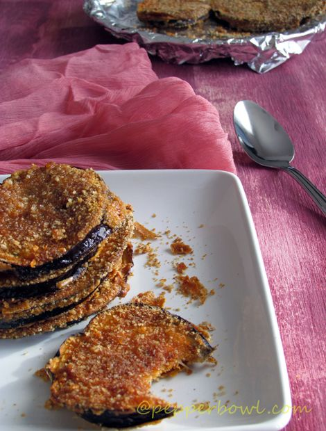 'Easy Crispy Eggplant / Baked Eggplant Recipe' is perfect recipe is great for snack / appetizer. Best way of celebrations. It goes very well for sandwiches, lasagnas