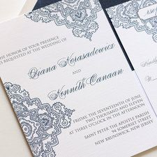 43 best wedding images on pinterest dream wedding for Cheap thermography wedding invitations