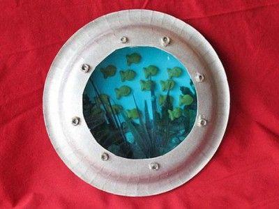 Paper Plate Port Hole