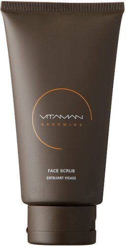 Vitaman Face Scrub - 150ml/5oz by Vitaman. $40.00. An exfoliating, naturally anti-bacterial treatment for men. An exfoliating naturally anti-bacterial treatment for men Helps sweep away dead skin cells dirt & grime that clog pores Enables skin to breathe & diminish toxins Prepares a better shaving surface Infused with a natural refreshing citrus aroma Reveals a purified & younger looking complexion Perfect for all skin types To use: Apply to face in shower or after cl...