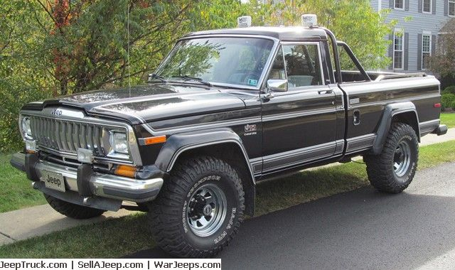 Used Jeeps and Jeep Parts For Sale - 1983 Jeep J10 Laredo Mostly Original