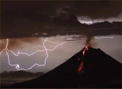 Erupting Volcano - Pyroclastic Flow