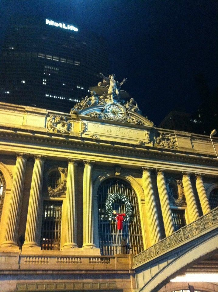 Grand Central Station at Christmas