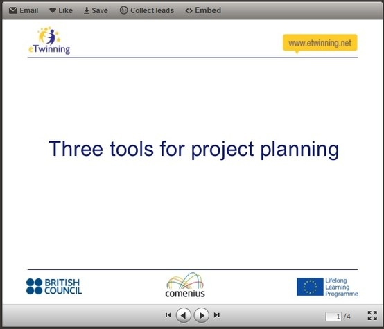 Three Tools for Project Planning: http://www.slideshare.net/floanderson/project-planning-20191555