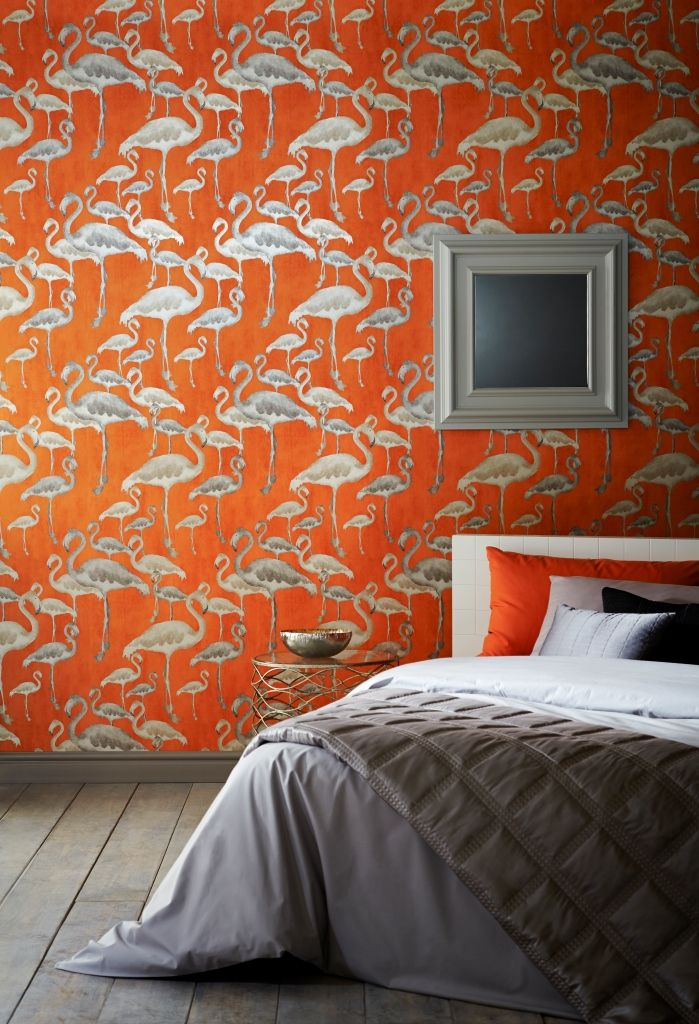 Flamingo Beach wallpaper in Calypso from the 'Shade Wilder' collection by Arthouse. Available exclusively in New Zealand through Guthrie Bowron.