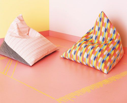 Summer Accessories: Instructions for the square beanbag - BRIGITTE