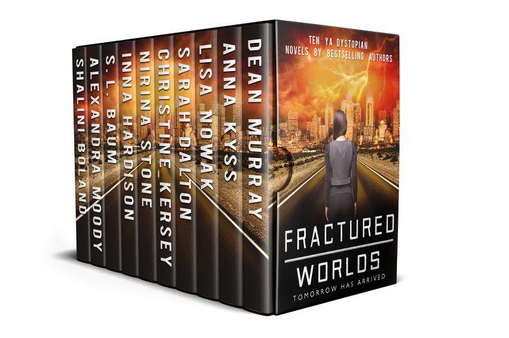 Fractured Worlds: Ten YA Dystopian Novels by Dean Murray , Anna Kyss , Lisa Nowak , Sarah Dalton , Christine Kersey , Nirina Stone , Inna Hardiso. 10 Haunting Glimpses into the Future. Free! http://www.ebooksoda.com/ebook-deals/fractured-worlds-ten-ya-dystopian-novels-by-dean-murray-anna-kyss-lisa-nowak-sarah-dalton-christine-kersey-nirina-stone-inna-hardiso