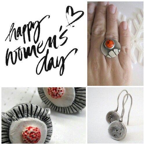 Happy women's day!! from www.etsy.com/shop/applenamedD