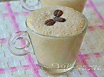 Crema fredda al caffè senza panna e senza uova senza cottura, fresca golosa e leggera, una crema da gustare senza sensi di colpa, profumata e cremosa