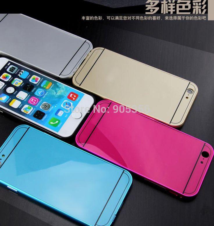 Для iphone 6 4.7 дюймов роскошь тонкие металлические алюминий корпус чехол Probective покрытия мобильных аксессуары для мобильных телефонов сумка