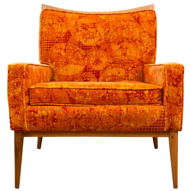 original midcentury paul mccobb club chair