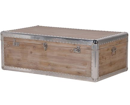 Wooden Trunk Coffee Table available from Browsers Furniture Co., Limerick, Ireland. www.browsers.ie.