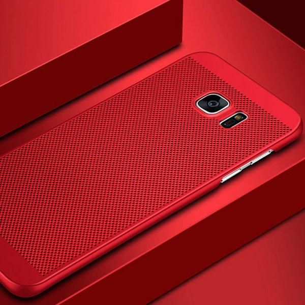 Mesh Dissipating Heat Anti Fingerprint Hard PC Case For Samsung Galaxy S7 Sale - Banggood.com