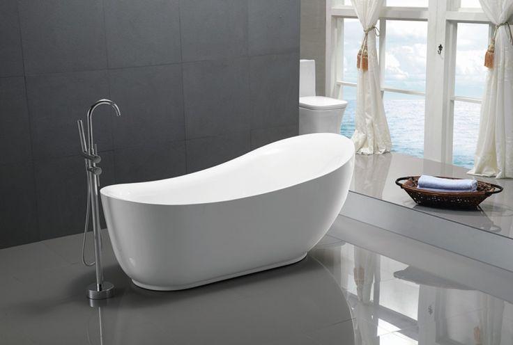 Sanifun vrijstaand bad Samuele. gratis geleverd in NL & BE