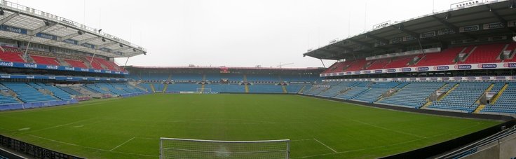 View from aeria 110 at Ullevaal Stadion