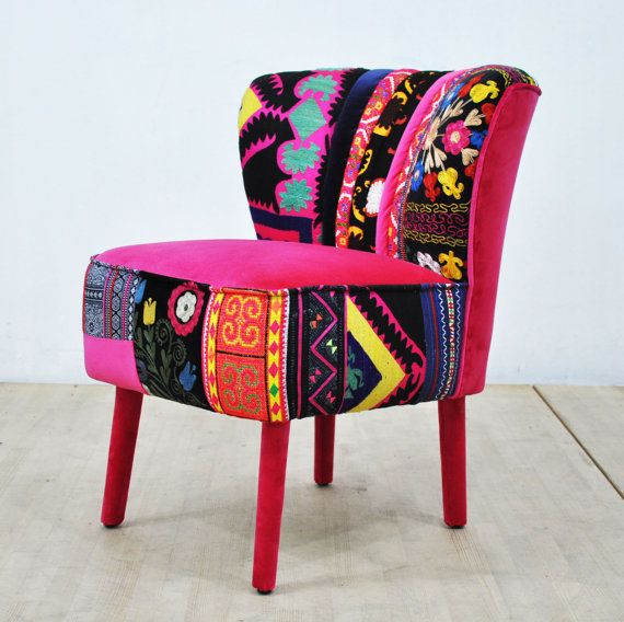 50's Club chair  pink love by namedesignstudio on Etsy♥•♥•♥