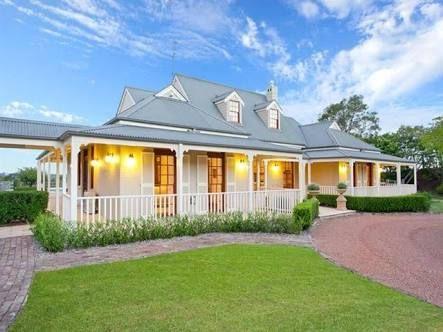 Image result for australian weatherboard bullnose verandah