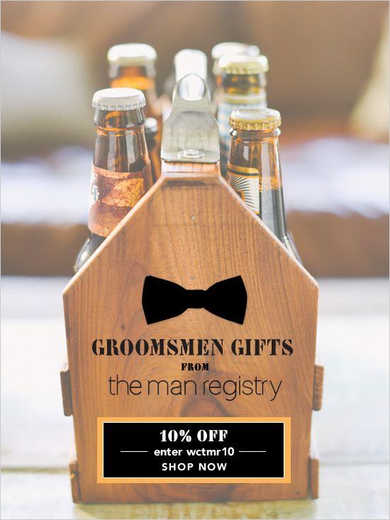 Stylish groomsman gifts