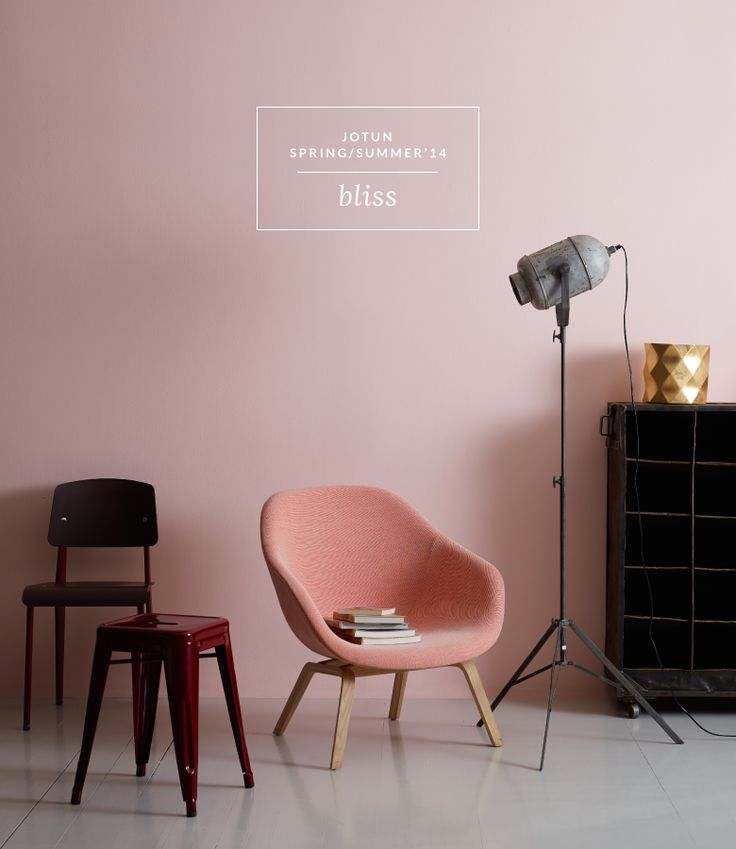 colour crush - copper & blush Jotun paints - Bliss | Spring/Summer 2014 www.houseofhawkes.net