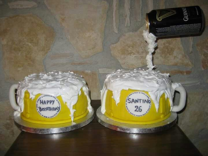 Torta boccali di birra