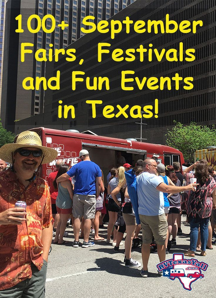 100+ September Festivals and Fun Events in Texas