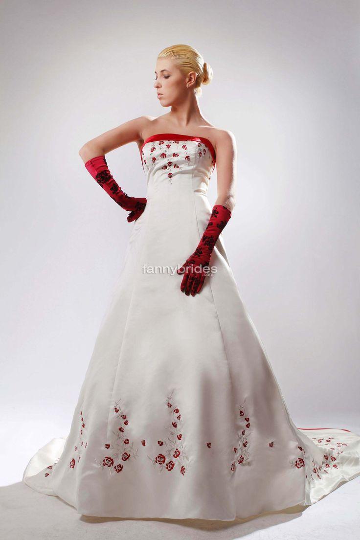 Plus Size Red Wedding Dresses