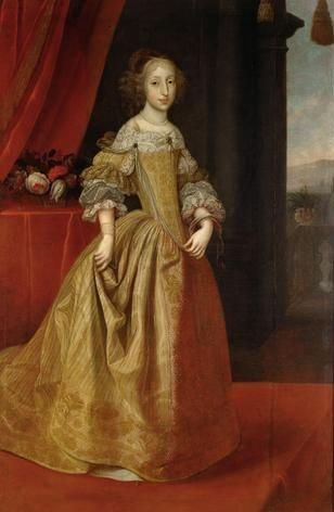 Maria Antonia Duchess of Bavaria, 1684  (Benjamin von Block) (1631-1690) Kunsthistorisches Museum, Wien,  Gemäldegalerie